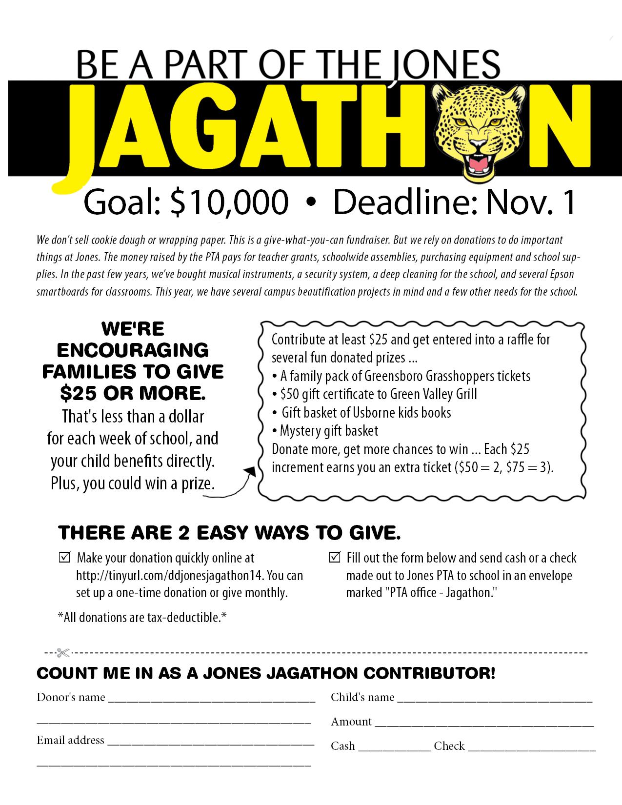 Jagathon flier 2019
