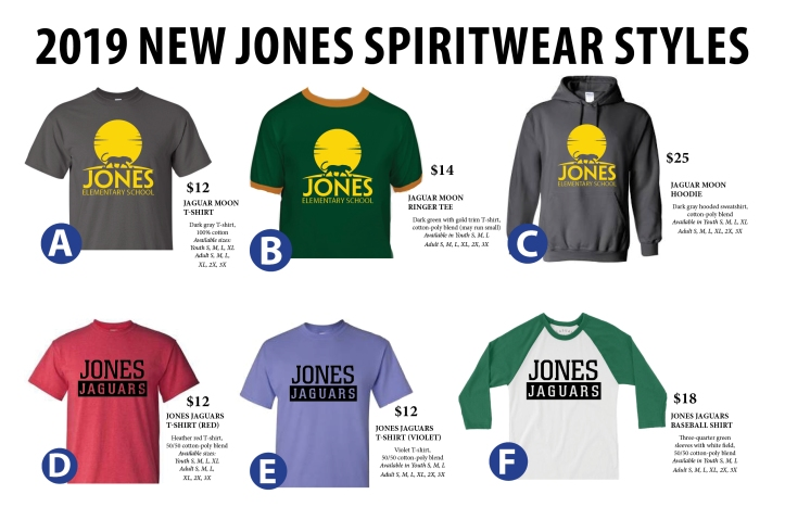 Spiritwear styles